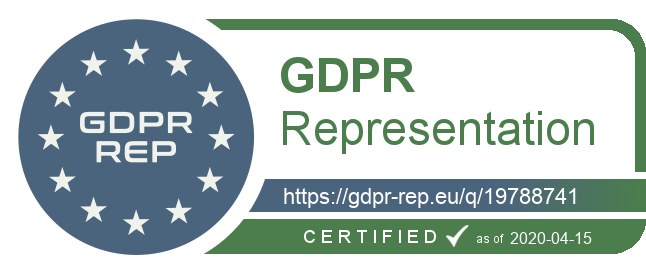 GDPR Rep Badge